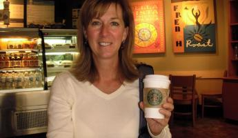 Linda in heaven - Starbucks