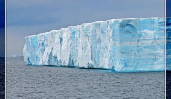 Tabular iceburg - These things are enormous.