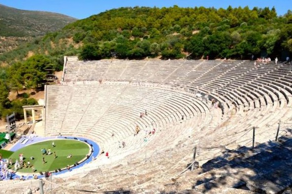 An ancient highlight - the amphitheatre of Epidaurus