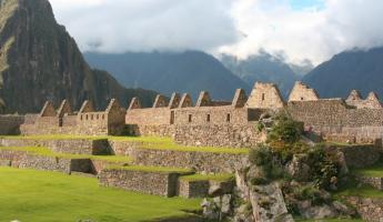 Watch the afternoon sunlight glow on the walls of Machu Picchu on your Peru tour