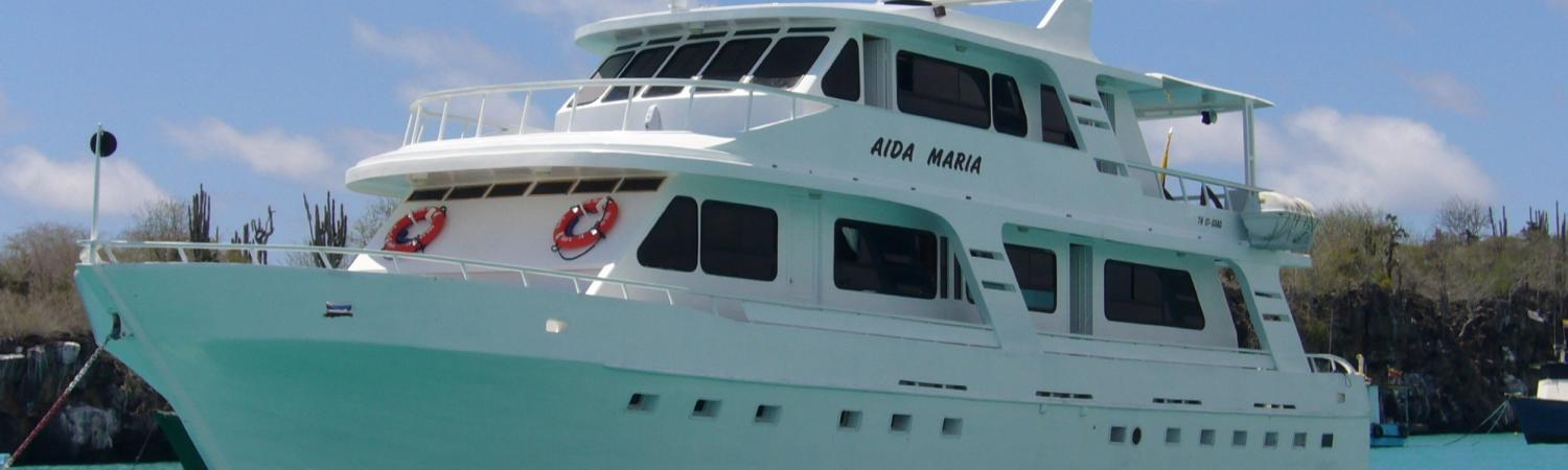 Cruise the Galapagos archipelago aboard the Aida Maria