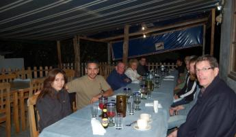 the outdoor restuarant on Floreana was amazing. we had a wonderful meal outside in the dirt. it was really outstanding.