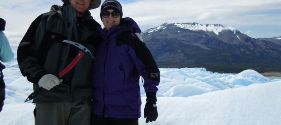 Top of Perito Moreno Glacier