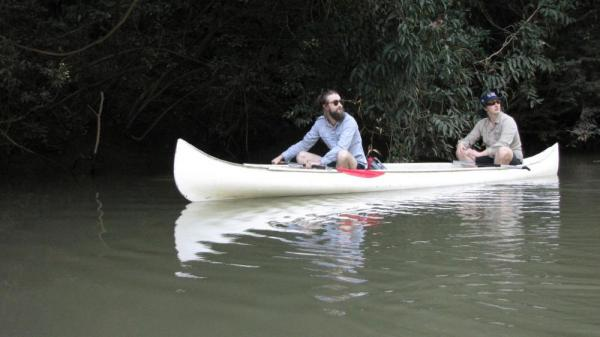 Canoeing on the Rio Macal