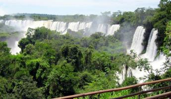 Iguazu Falls Last View before going home