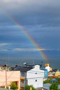 Rainbow over Ushuaia