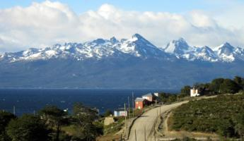 Beagle Channel view from Tierra de Leyendas hotel