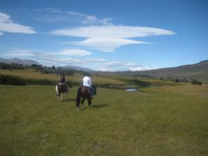 Horseback riding at El Galpon Del Glaciar