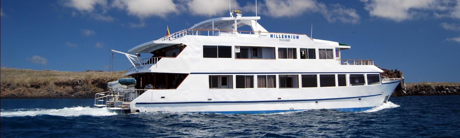 Cruise the Galapagos aboard the Millennium