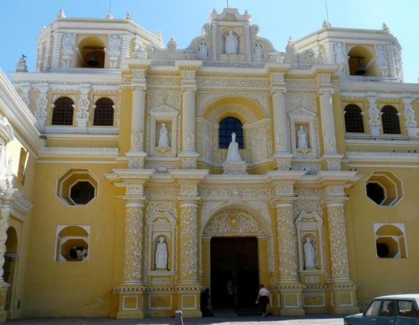 Inglesia de Nuestra Senora de la Merced-only big church not