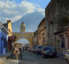 Antigua and the Volcano