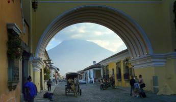 Arches in Guatemala City