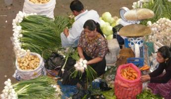 Market day in Guatemala City