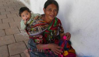 A local woman and child in Guatemala
