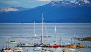 Harbor of Ushuaia