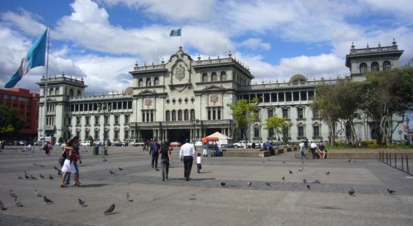 Palacio Nacional in Guatemala City.
