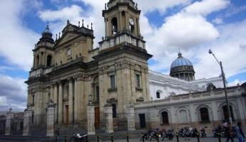 Guatemala City Cathedral-built after captial moved from Ant