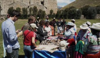 Market in Colca Canyon during homestay