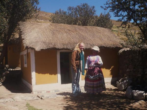 Gracious hosts for a Colca Canyon homestay