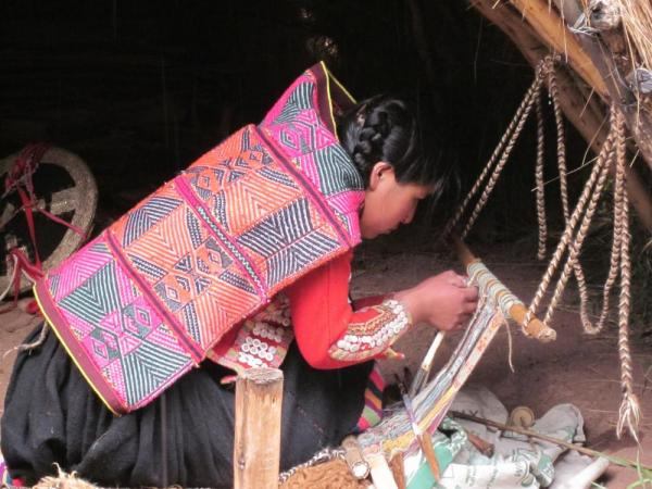 intricate weaving
