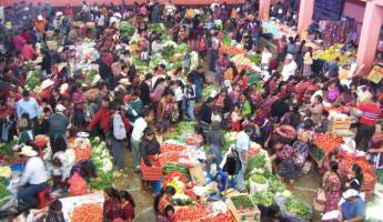 Market at Chichicastenengo