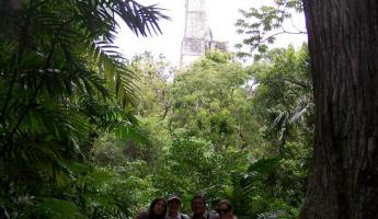 Group shot- Tikal