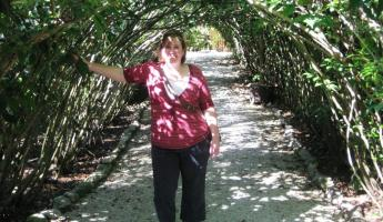 Exploring the beautiful grounds of the Belize Zoo