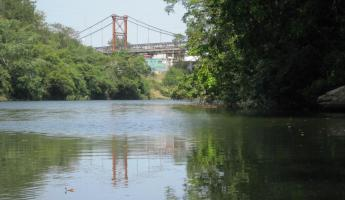 Returning into San Ignacio on the Macal River