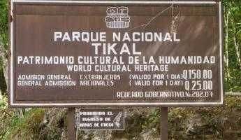 Welcome to Tikal National Park