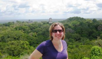 Happy to be at Tikal National Park!