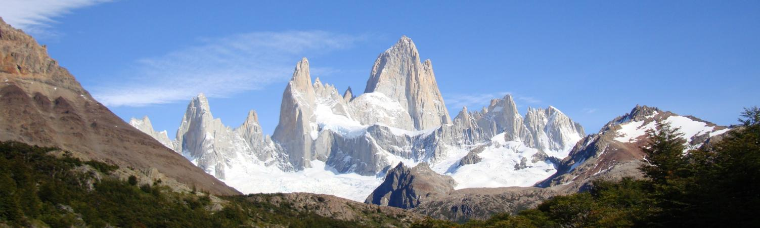Fitz Roy -- view during Day 2