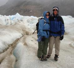 Glacier fashion at its finest.