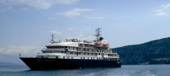 The Corinthian II carries 114 guests