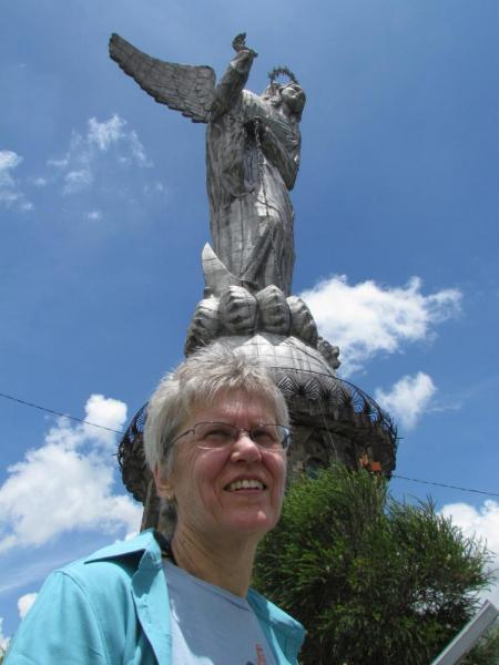Helen on Panecillo