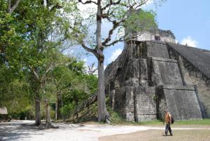 View of Temple II-Tikal