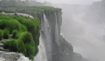 Devil's Throat Canyon at Iguazu Falls on Argentina trip