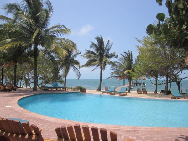 The pool at Hamanasi Resort