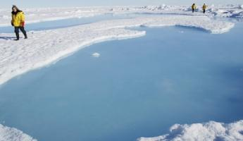 Walk the polar ice at the North Pole