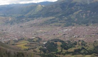 Cusco from plane