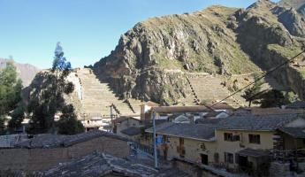 View from Hotel Ollantaytambo