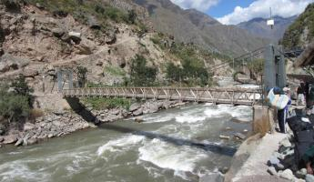 Urubamba River Bridge