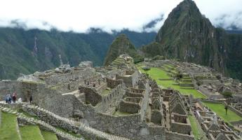 Finally... Machu Picchu