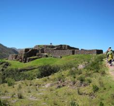 Hiking around the Sacred Valley