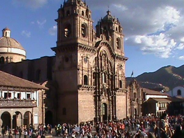 The Jesuit Church, Cusco