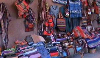 The shop at Chinchero.