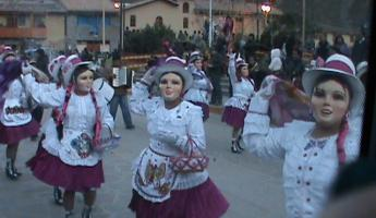 Dancers at Festival of Chockikillka