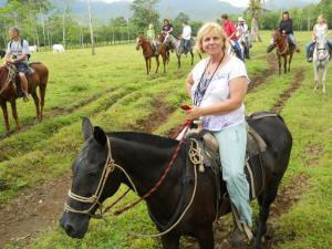 Riding at Arenal