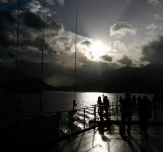 Gorgeous light as we sailed the Beagle Channel