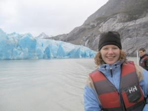 Grey Glacier Cruise in Torres del Paine on Chile tour