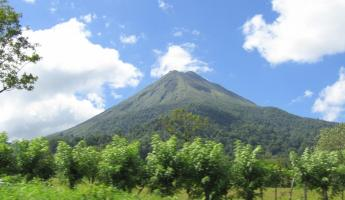 Arenal Volcano on Costa Rica tour